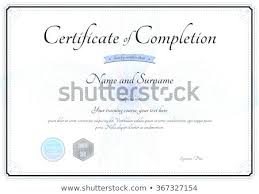 sample certificates of completion certificate of completion of training template certificate of