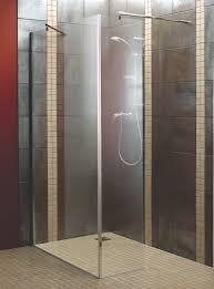 Aquadry L-Shaped Walk-In Shower Screen (W)1200mm | Departments | DIY at B&Q