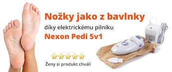 Set Nexon Pedi 5v1 Elektrický Pilník Na Nehty Nexon Nail 3v1 Za