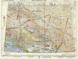 World Aeronautical Chart Wrangell Mountains Alaska