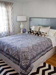 Turn a Coverlet Into a Duvet Cover | HGTV & Blue and White Duvet Cover Adamdwight.com