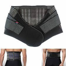 lightbox moreview Lumbar Lower Back Support Belt Brace Pain Relief Posture Waist