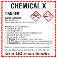 chemical information sheet uab occupational health safety hazard communication