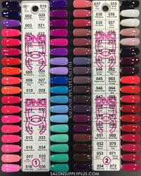 Dnd Duo Color Chart 18 Daisy Duo Gel Swatch Color Chart Dnd Gel Nail Polish