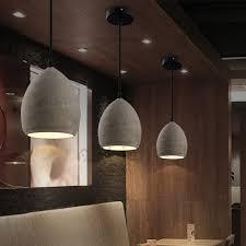e27 one light unique grey cement mini pendant lights