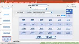 How To Make A Game In Powerpoint How To Make A Jeopardy Game On Powerpoint With Pictures