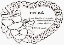 Diploma Pentru Mama Căutare Google Mama Mamá Mamá Papá Escuela