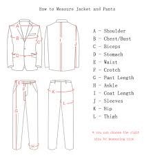 Suit Jacket Size Chart Wonderful Formal Tuxedos Tailored Made Navy Blue Men Suit Slim Fit Groomsmen Mens Wedding Prom Suits Big Size Jacket Pants Vest