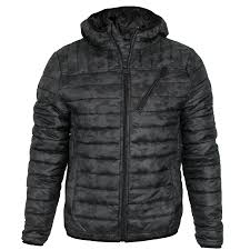 Mens Threadbare Camo Padded Quilted Hooded Puffa Jacket Winter ... & Mens-Threadbare-Camo-Padded-Quilted-Hooded-Puffa-Jacket- Adamdwight.com