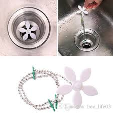 2018 house scenery drain hair shower catcher clean never clogged bathtub plumbing stainless steel cover bathroom filter sewer stopper from free life03