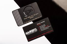 Steel Business Cards Black Metal Business Cards Luxury Printing