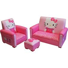 hello kitty furniture. Hello Kitty Bows Toddler 3-Piece Sofa, Chair And Ottoman Set - Walmart.com Furniture L