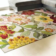 exotic bouquet rectangle rug