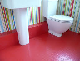 Rubber Bathroom Floor Rubber Flooring As Popular Alternative For Your House Wearefound