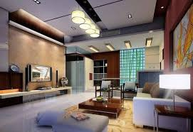 ... Wonderful Indoor Lighting Ideas Living Room White Round Pendant Light  Fixture White Wood Tv Stand Storage