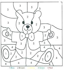 Color By Numbers Printables Free Coloring Pages Hard Color Number
