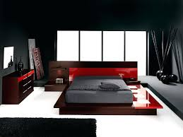 Designer Bedroom Furniture Samples For Black White And Red Bedroom