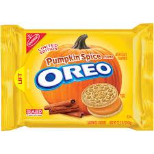 Pumpkin Spice Paint Living Room Nabisco Oreo Pumpkin Spice Creme Sandwich Cookies 122 Oz