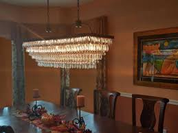 rectangular dining room chandelier the weston inch rectangular glass drop inspirations with crystal chandelier dining room picture renovation