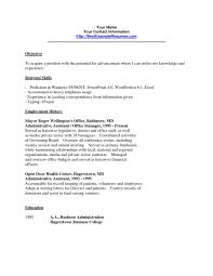 Resume Templates For Office 2012 Cv Format Ms Coverletter Jobs