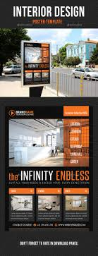 Interior Design Poster Template V04 - Signage Print Templates