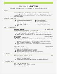 General Resume Objective Unique Web Developer Resume Examples Pdf
