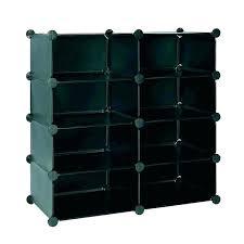 8 cube organizer shelf unit four shelves white better homes and gardens modular cu