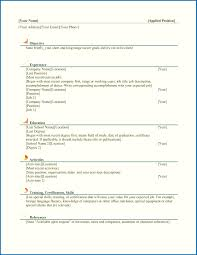 Colorful Microsoft Office Skills Resume Elaboration Documentation