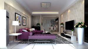 Purple Living Room Living Room Purple Berger Paints Wall Designs For Drawing Room