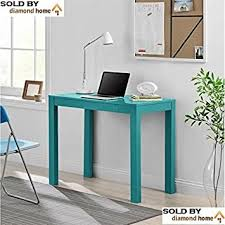 Blue Teal Writing Desks for Small Spaces, Teens, Mens or Ladies Writing Desk  Is