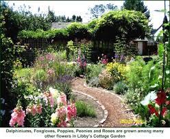 Cottage Garden Design  GardenNajwacomCottage Garden Plans