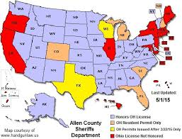 Carry County Concealed Permits Ohio Office Sheriff's Allen -