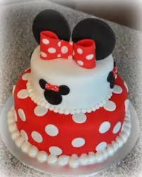 Minnie Cake Birthdays Gateau Anniversaire Bebe Gâteau Minnie