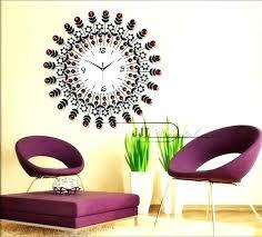 large modern clock wall clocks for luxury living room garden regarding 0 oversized decorative w