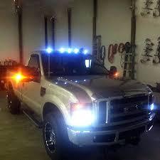 led lights for trucks off installed
