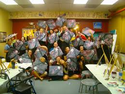 photo of painting with a twist tampa fl united states photo courtesy