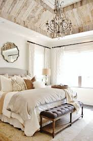 Neutral Wall Colors For Bedroom Chic Bedroom With Neutral Wall Color And Chandelier Over King Size