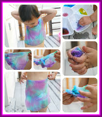 how to make tie dye shirts using food coloring
