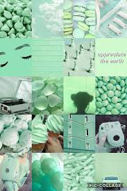 Aesthetic Wallpaper Green Background