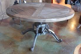 unique cast iron table base vintage