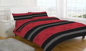 annaliese red bedding set