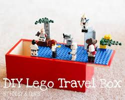 diy travel lego case from baby wipes