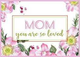 Online Printable Birthday Cards Mom Birthday Card Printable Happy Birthday Mom Card