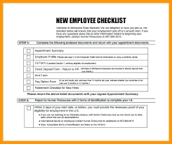 Sample Orientation Checklist For New Employee New Hire Employee Checklist Template Hr Audit Example Onboarding