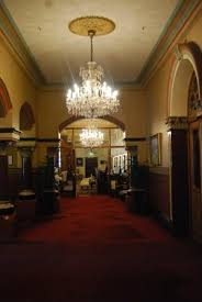 the hotel windsor chandeliers and corridors