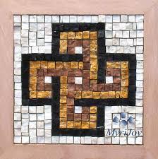 Simple Mosaic Art Designs Simple Religious Mosaic