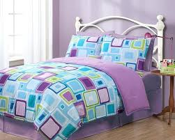purple bed sets twin amusing purple and blue comforter sets aqua square reversible set twin purple purple bed sets