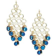 geometric chandelier earrings design lab lord crystal geometric chandelier earrings rub a liked on home decorations geometric chandelier earrings
