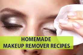 homemade makeup remover recipes