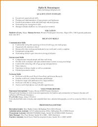 Organizational Skills Resume List Resume Template General Manager